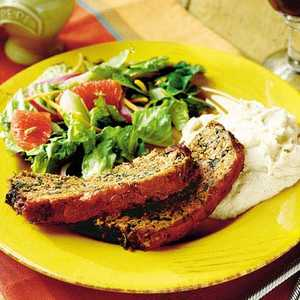 Herb-and-Veggie MeatloafRecipe