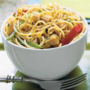 Sweet-Hot Asian Noodle BowlRecipe