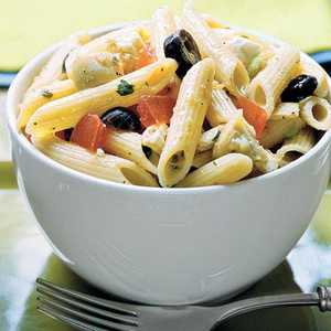Penne With Greek-Style Tomato SauceRecipe