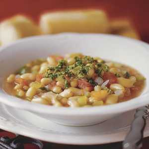 White Bean Soup With GremolataRecipe