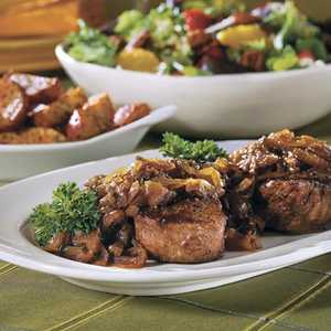 Beef Fillets with Cognac-Onion SauceRecipe