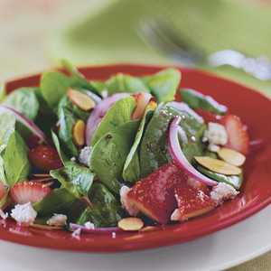Strawberry-Spinach Salad Recipe