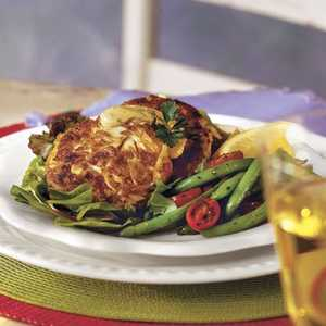Crab Cakes With Lemon RémouladeRecipe