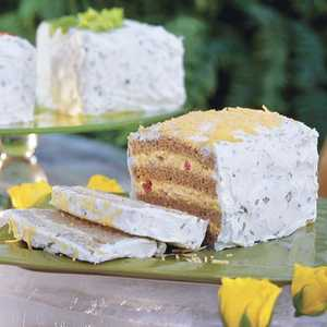 Frosted Party Sandwiches Recipe
