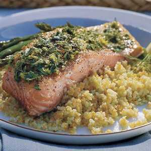 Lemon-Grilled SalmonRecipe