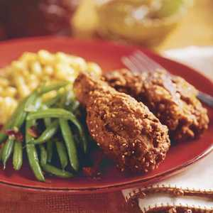 Spicy Curried Fried ChickenRecipe
