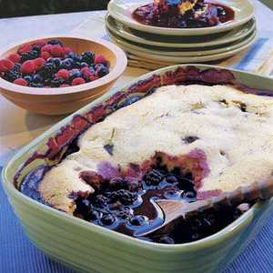 Fresh Berry CobblerRecipe