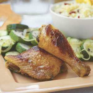 Baked Curry-Glazed Chicken Recipe
