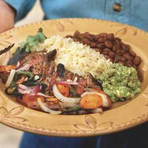 Pan-Seared Skirt Steak With Poblano Chiles and OnionsRecipe