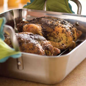 Herb-Roasted ChickensRecipe