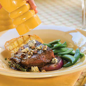 Maple-Mustard Broiled SteakRecipe