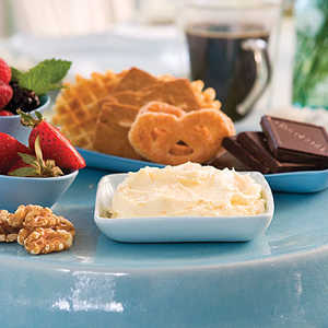 Sweet Dip With Cookies and FruitRecipe