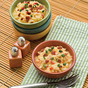 Cheese-and-Bacon RisottoRecipe