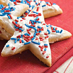 Frosted Sugar-'n'-Spice Cookies Recipe