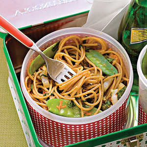 Sweet Chili-Lime Noodles With VegetablesRecipe