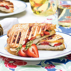 Strawberry-Turkey-Brie PaniniRecipe