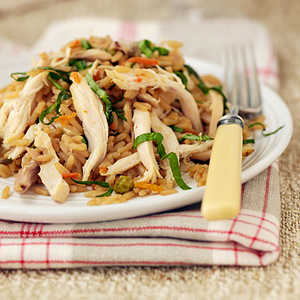 Asian Chicken and Fried RiceRecipe