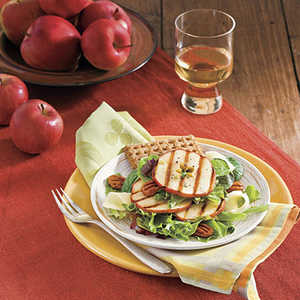 Grilled Apple Salad Recipe
