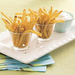 Salt-and-Pepper Oven Fries Recipe