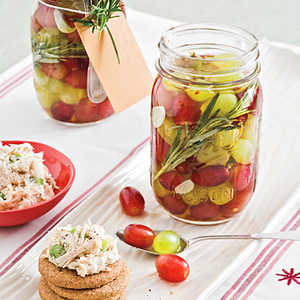 Pickled Grapes With Rosemary and Chiles Recipe