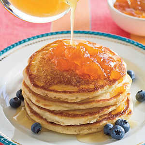 Pam-Cakes With Buttered Honey Syrup Recipe