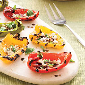 Grilled Rainbow Peppers Recipe