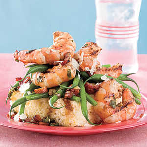 Grilled Shrimp-and-Green Bean SaladRecipe