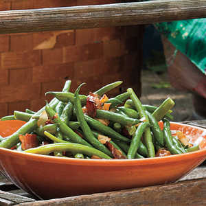 Sweet-and-Sour Green BeansRecipe
