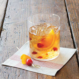 Cranberry Old Fashioned CocktailRecipe