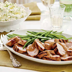 Bourbon-Brown Sugar Pork TenderloinRecipe