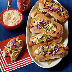 Sweet Heat Hot DogsRecipe
