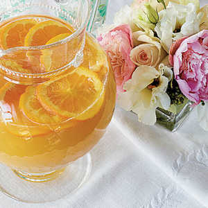 Ginger-Orange MocktailsRecipe