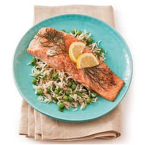 Roasted Salmon with Lemon and DillRecipe