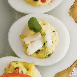 High Society Deviled EggsRecipe