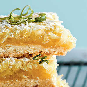Tequila-Lime-Coconut Macaroon BarsRecipe