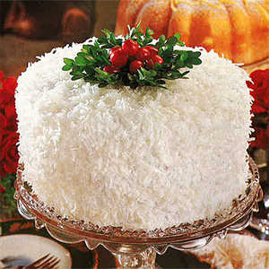 Coconut-Lemon CakeRecipe