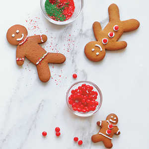 <p>Gingerbread Men Cookies</p>