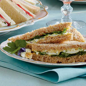 Egg Salad Tea Sandwiches Recipe