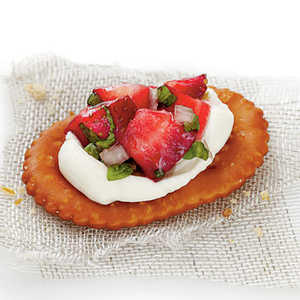 Strawberry Pretzel CrostiniRecipe