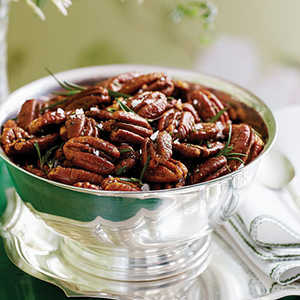 Roasted Brown-Butter Pecans with Rosemary Recipe