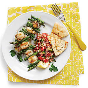 Grilled Scallop Kabobs Recipe