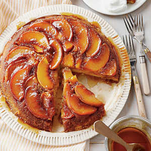 Peach Upside-Down CakeRecipe
