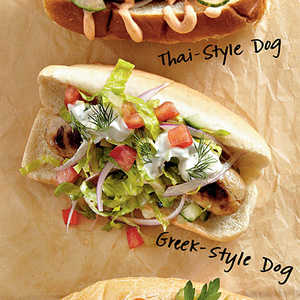 Greek-Style Dogs Recipe
