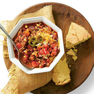 Beef-and-Black-eyed Pea ChiliRecipe