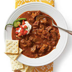 Spicy Slow-Cooker Beef ChiliRecipe