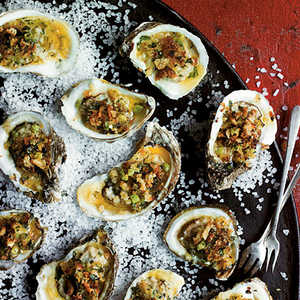Broiled Oysters on the Half ShellRecipe