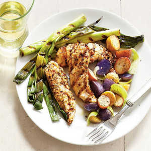 Grilled Chicken and New PotatoesRecipe