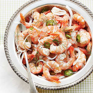 Pickled Shrimp with FennelRecipe