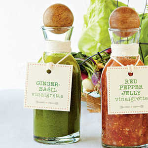 Ginger-Basil Vinaigrette Recipe