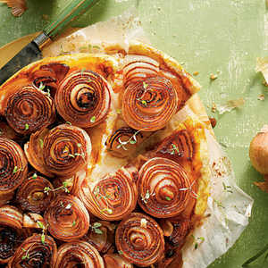 Caramelized Sweet Onion Tarte TatinRecipe